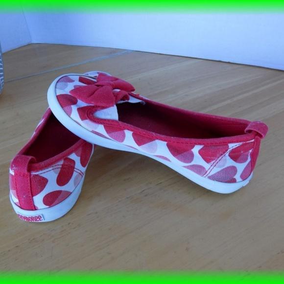 NWT Gymboree VALENTINE/'S DAY Size 6 7 8 9 10 Sliver Heart Flats Girls